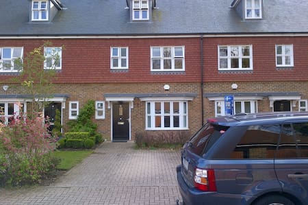 3 bed Ascot house in private estate - Windsor and Maidenhead