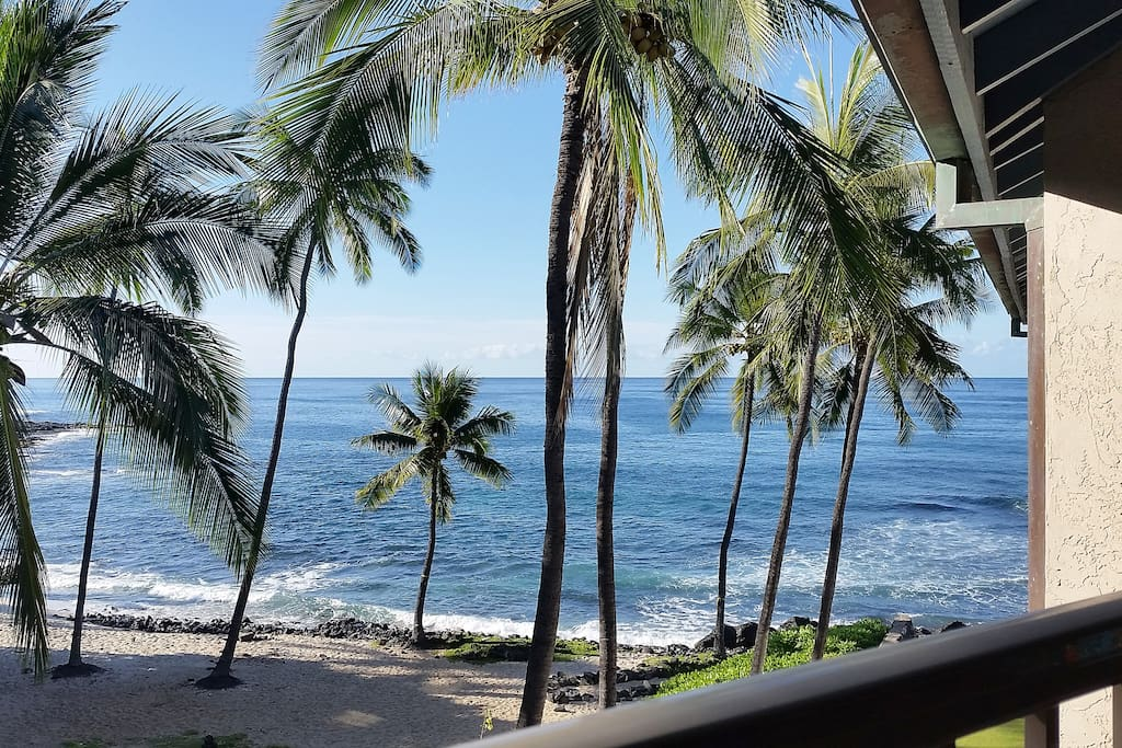 Enjoy sparkling blue Pacific ocean views every day.