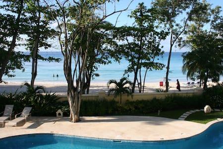 Luxury Beach Front Condo, Sapphire Beach, Barbados - Oistins - 公寓