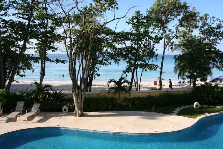 Luxury Beach Front Condo, Sapphire Beach, Barbados
