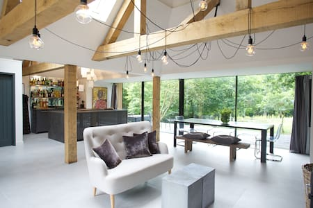 Contemporary rural retreat close to London. - Langton Green - Haus