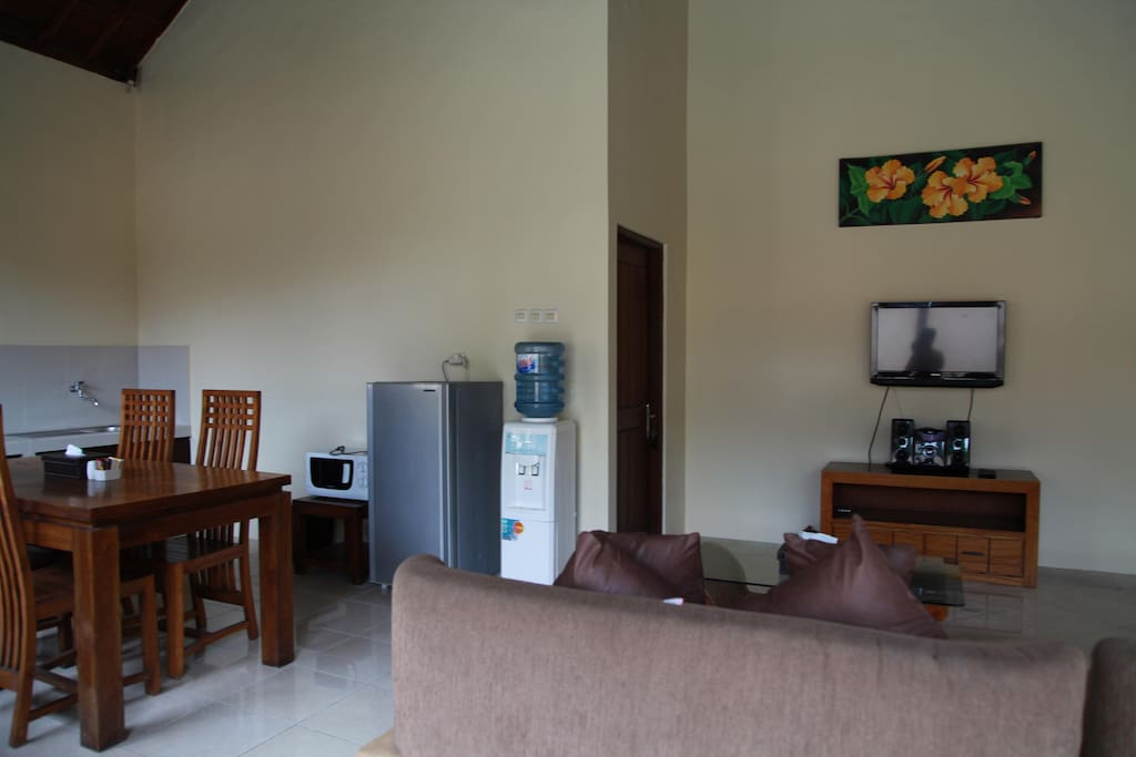 Living Area Villa 3
