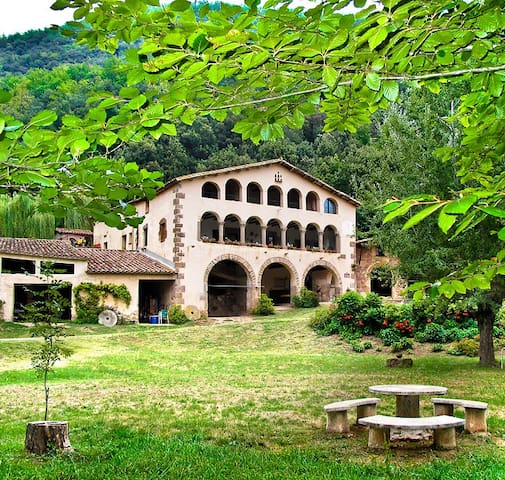 Ancient Catalan farmhouse. Moles. PG-18 - Girona - Apartment