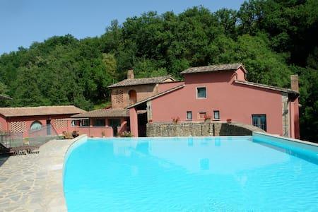 Mulino di Rimaggio - Fienile - con piscina - Montegonzi - อพาร์ทเมนท์
