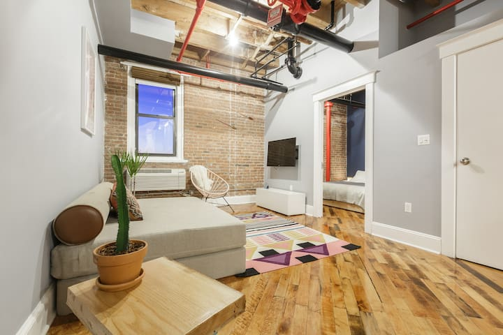 Authentic Factory 1BR w/City View