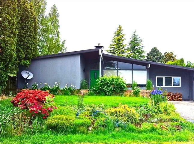 MidCentury Gem 3 bed House Large Fun - Portland - Holiday home