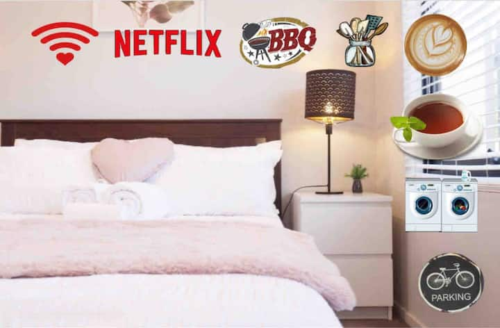 ***Fifo home with free unlimited Wifi & Netflix