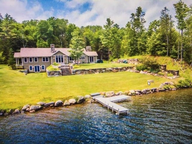 Lakefront home in beautiful northern New England