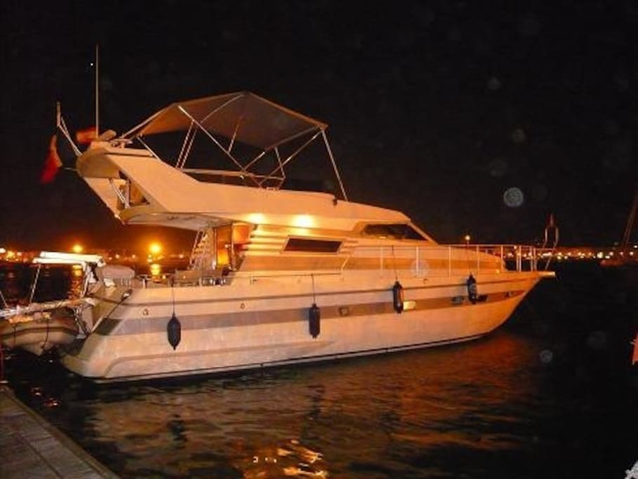 Nadir Yacht.. We do not offer you sea views, we offer you land ahead !