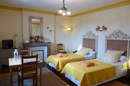 BnB Habitacion amarilla Dordogne - La Roche-Chalais