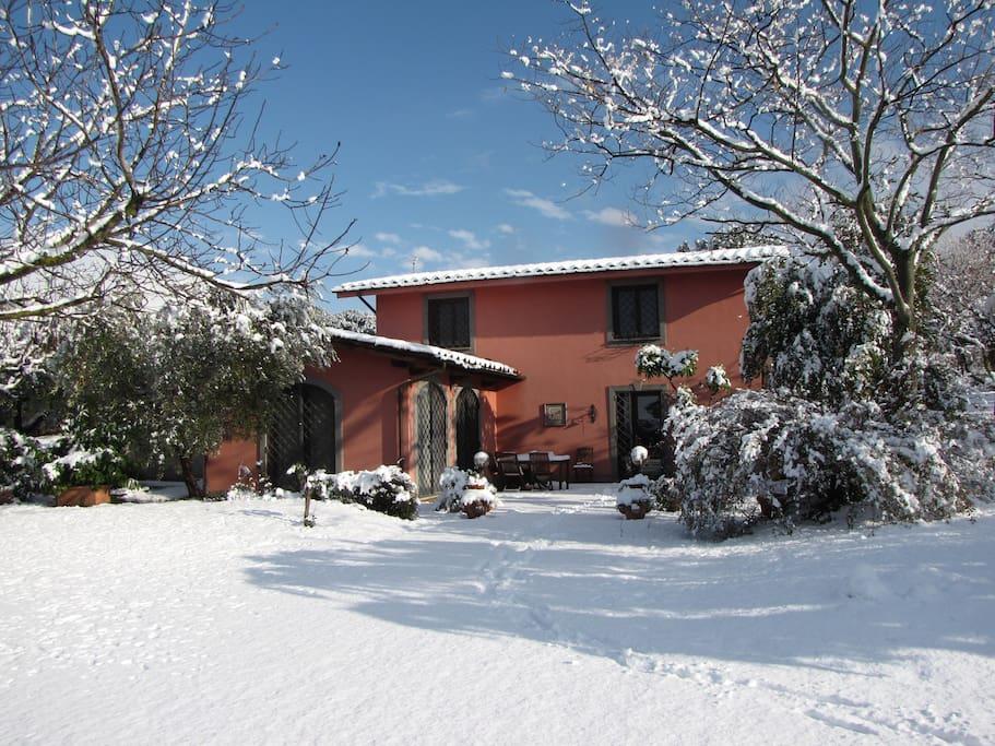 winter b&b Ai glicini Castel Gandolfo