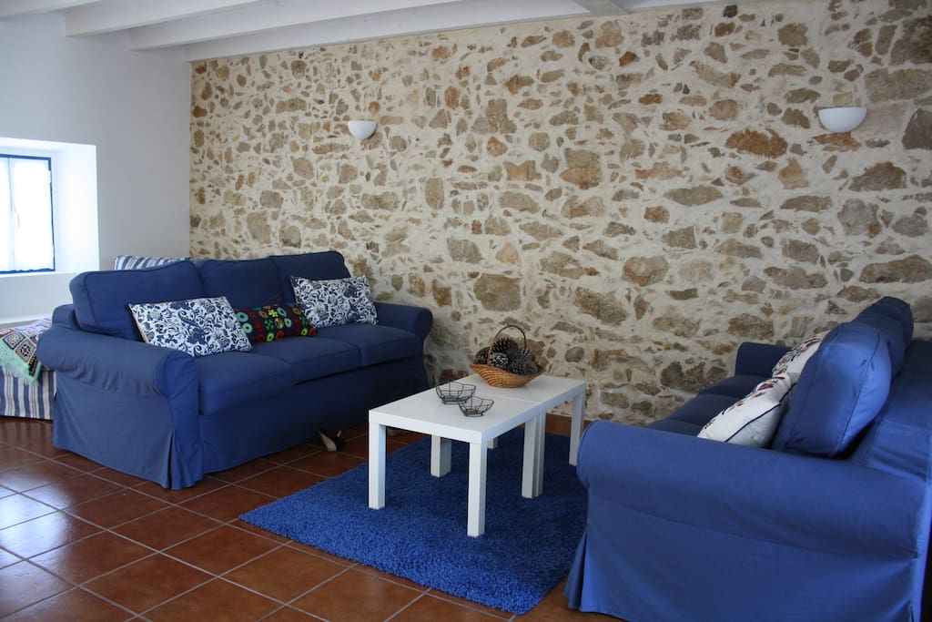 Living Room (with two double sofa bed, up to 4 people)