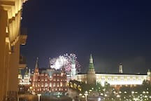 FIFA FIREWORKS 13.06.18 VIEW FROM BALCONY