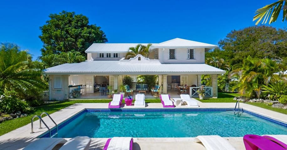 Attractive house on Barbados West Coast