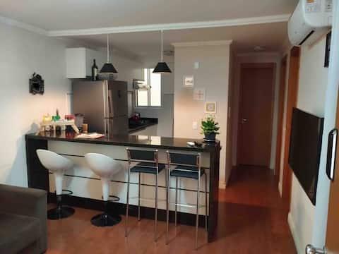 Apê confortável, seguro e bem localizado em SãoLéo