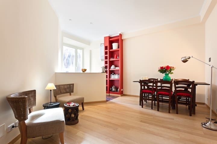 cosy room with bathroom and kitchen - Rom - Wohnung