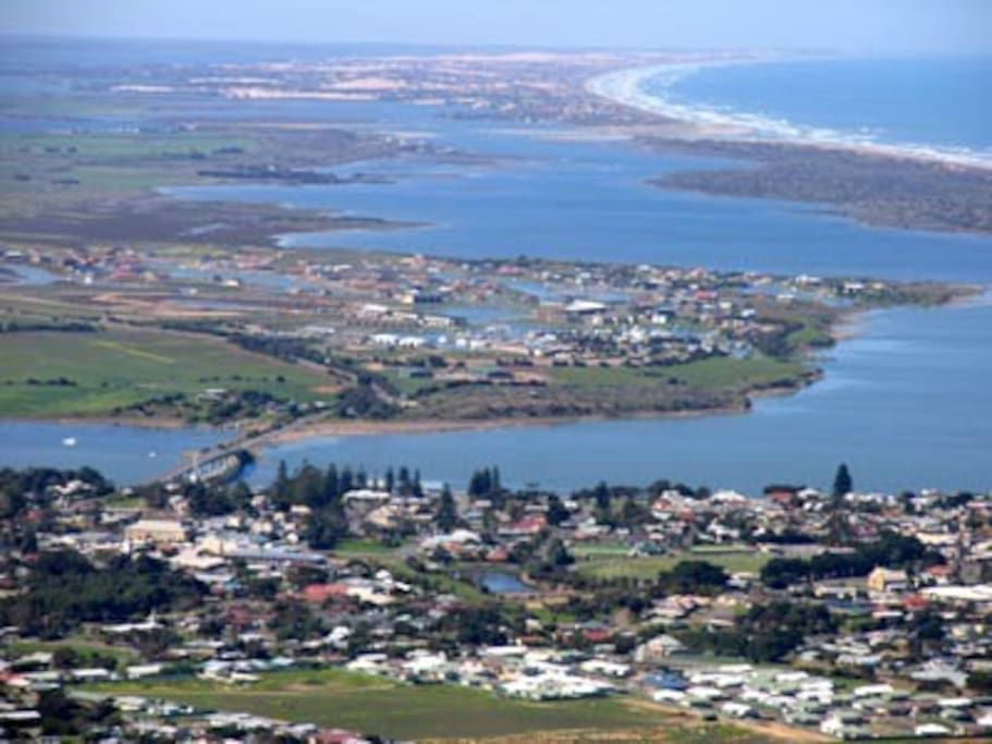 Goolwa is a magic place that shares the River Murray and the Southern Ocean!