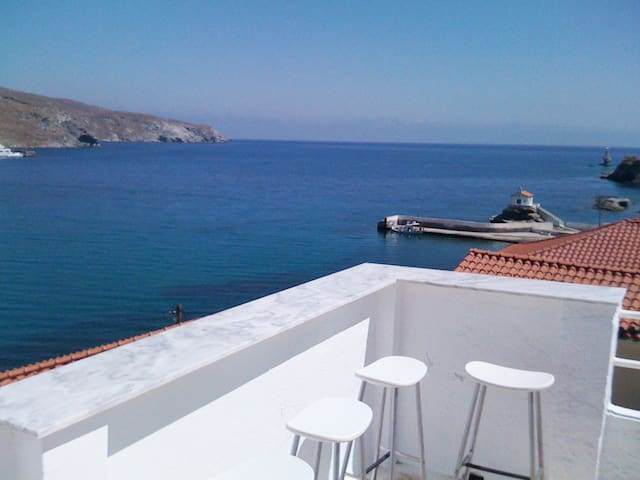 Town Center-Apt#2-Andros, Chora - Andros - Appartement