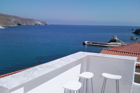 In Town Center-Apt#2-Andros, Chora - Daire