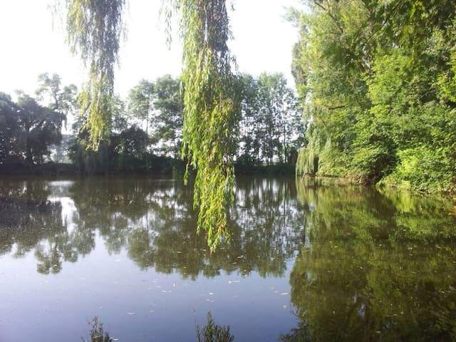 Privat-See-Villa nahe Leipzig-City - Lipsk - Willa