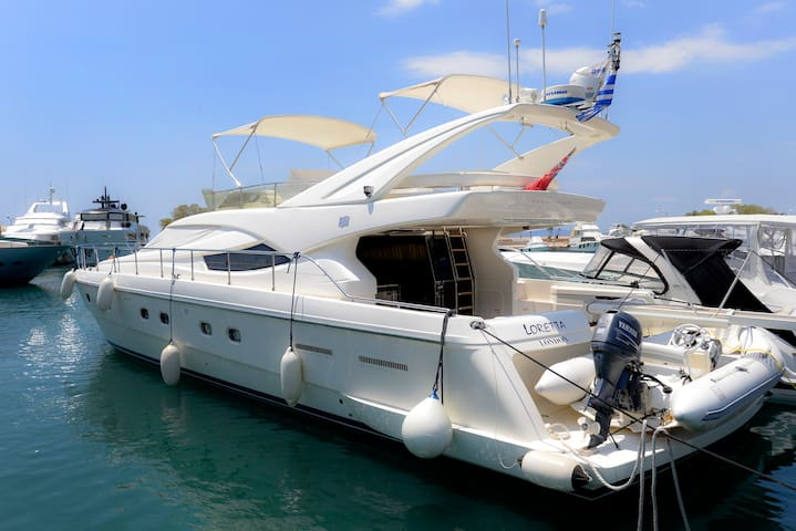 Live aboard a luxurious yacht on Athens Riviera - Atenas - Barco