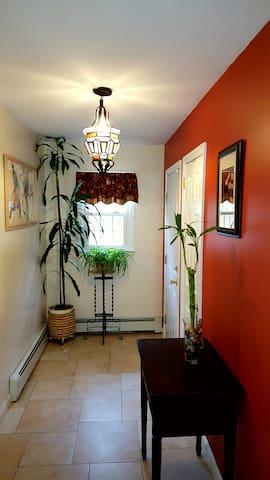 Hallway and Entrance.