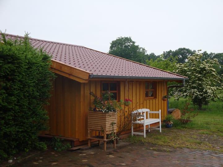 gemütliche Holzhütte