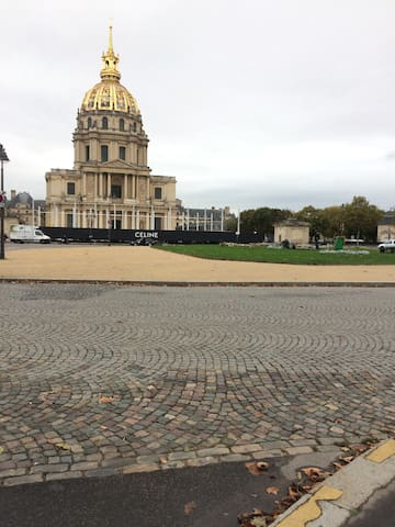 Lovely studio near Invalides and  the Eiffel Tower