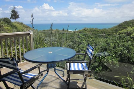 Relax with views of the Tasman  Sea
