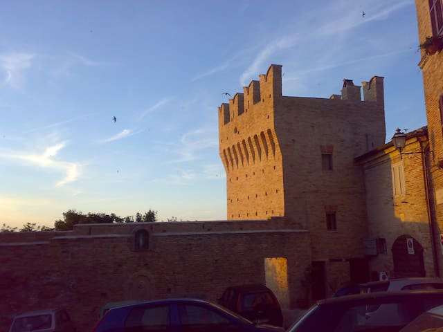B&B in the old town of Fermo,Marche