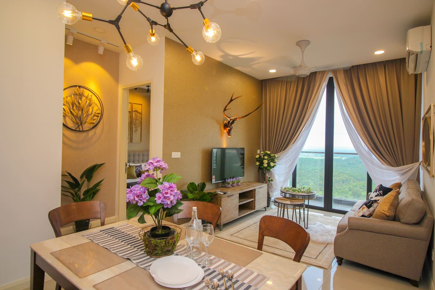Modern design and spacious 2-bedrooms unit that will give you and your family the feel of home.