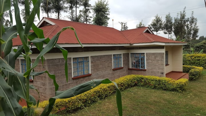 Nyeri home with a breathtaking view!