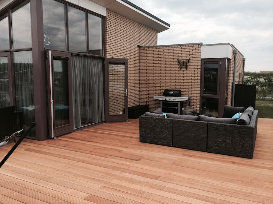 Enjoy the time on the 30m2 terrace