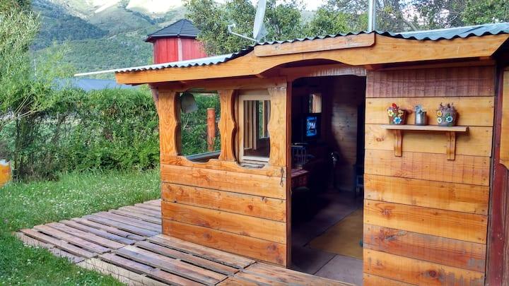 Casita de Campo en Lago Lolog-Villa Quilquihue-