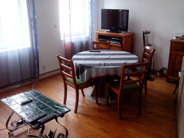 appartement cosy en centre-ville - Fécamp - Lägenhet