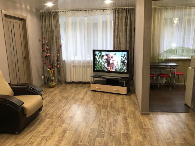 2 х комн. квартира в центре города на Набережной .