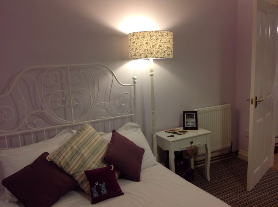 Newly decorated double room
