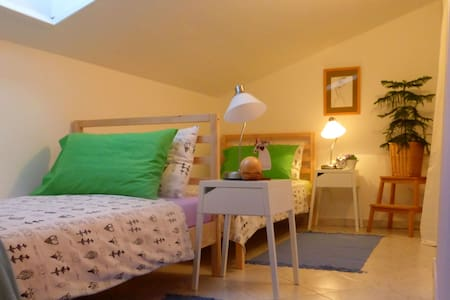 Cosy attic apartment 10 minutes from amphitheater - Apartment