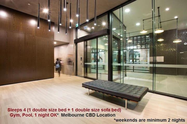 3Σ05 Great Studio! Centre of Melbourne CBD! - Melbourne - Wohnung