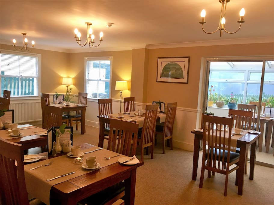 Breakfast Served in Main Guesthouse Dining Room
