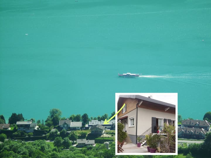 Comfortable apartment on the shores of Lake Annecy