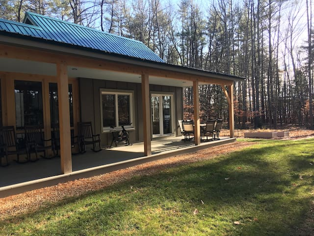 Ultimate peace in a wooded, lakeside retreat.Loons