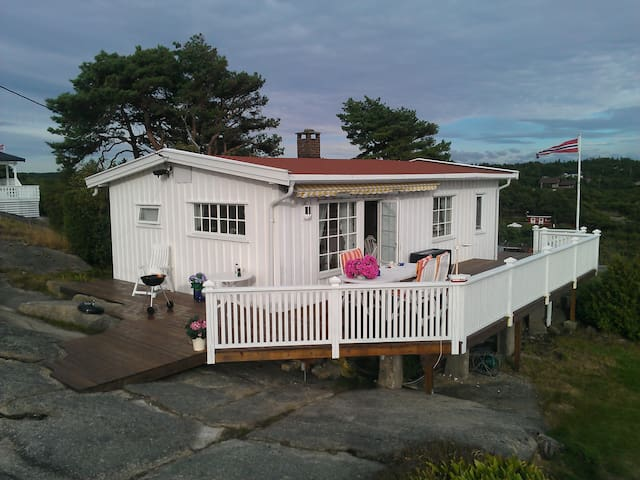 Solfylt, familievennlig hytte. - Fredrikstad