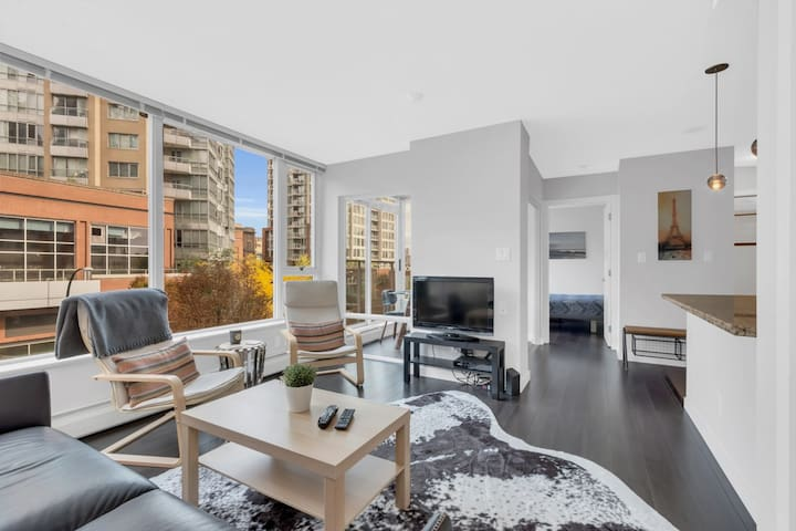 Super Clean and Modern 1 Bedroom Suite in Downtown
