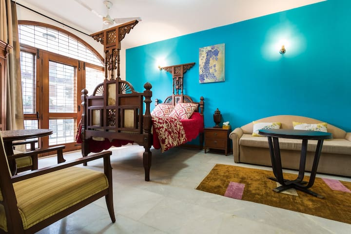 Happy home !- Posh south Delhi Apt. - New Delhi - Apartament