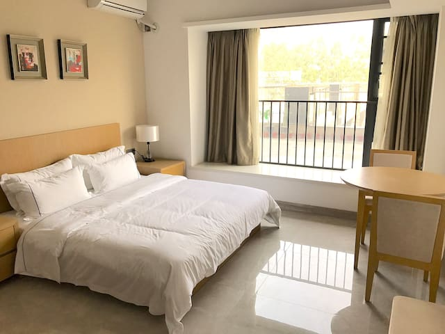Japanese style clean and cozzy Studio in GZ south - Guangzhou - Daire