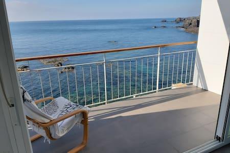 Cabo de Palos. Casa frente al mar en Cala Flores