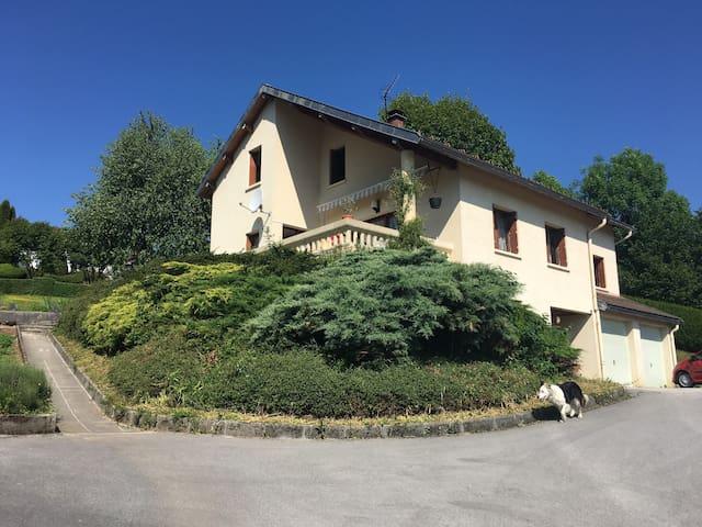 Maison pour vacances dans le Jura