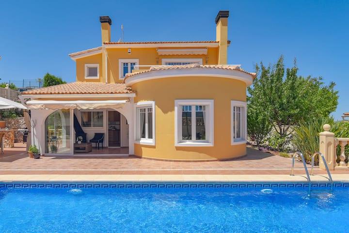 Stunning Villa in Moraira Spain with Swimming Pool
