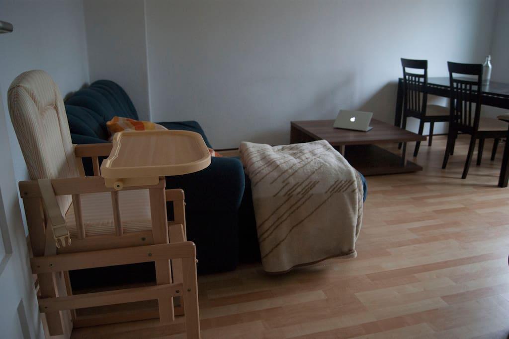 Living room left side